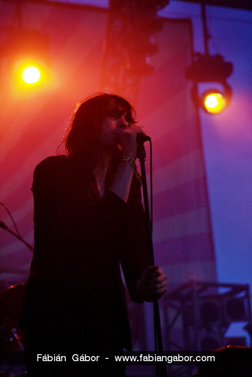 Primal Scream koncertfotó a Félsziget Fesztiválon